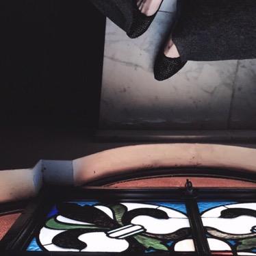 Escaliers vers le 4ème étage.